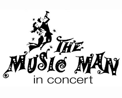 music man in concert